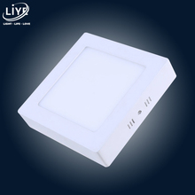 Led Panel Light Surface Mounted 85V 265V ceiling lights 4W 6W 12W 18W 24W Wall Square Led Indoor Downlight Flat Lamp