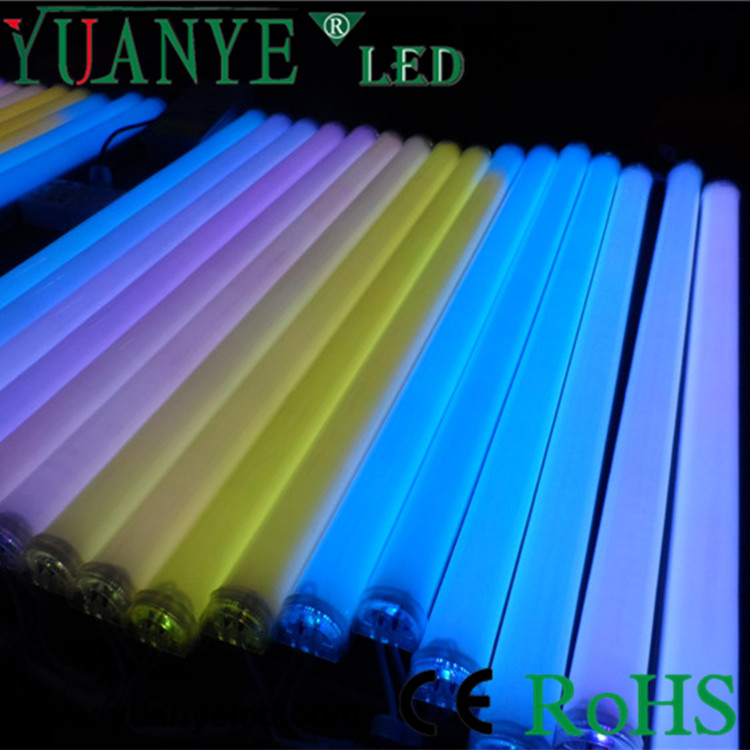 RGB full color changing LED Guardrail Tube/Pipe light
