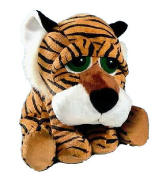 23462 R127 Tuffly Tiger Animal Soft Toy With His Tiger Patterned