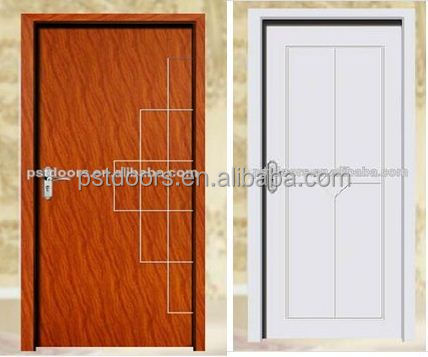 Portable container Steel flush Door Finished ,wind rated door, 2-Piece Frame