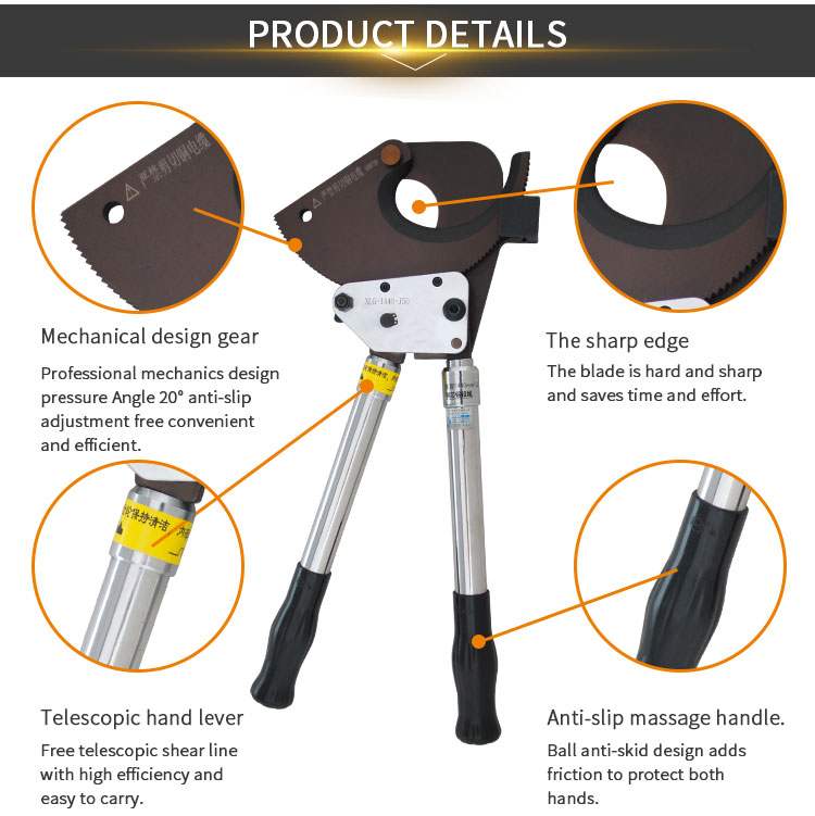 Ratchet Cable Cutter Details