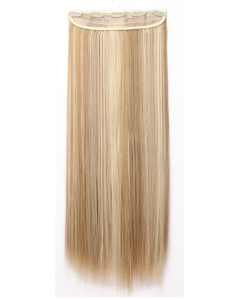 Buy Fashion Long Straight 2666cm 34 Full Head One Piece 5clips