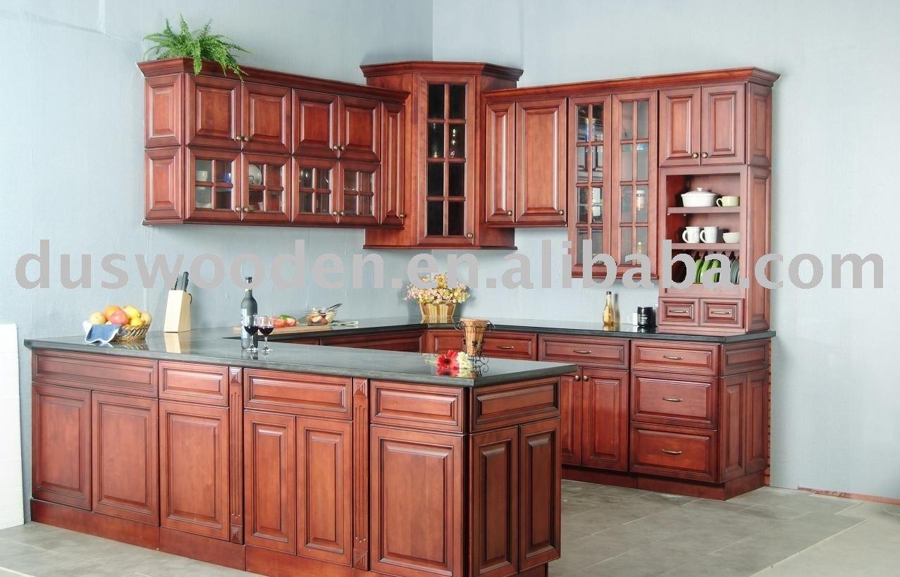 Gabinete de madera mobiliario de cocina identificaci n for Gabinetes de cocina modernos