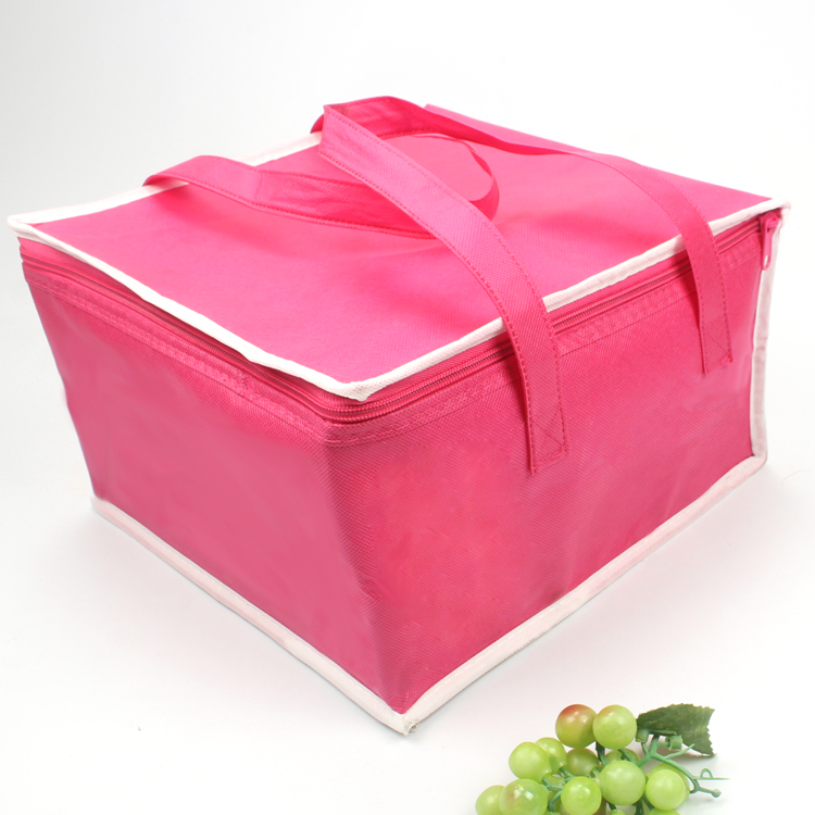 Insulated Food Delivery Bags Reusable Aluminum Cooler Bag Thermal Bag