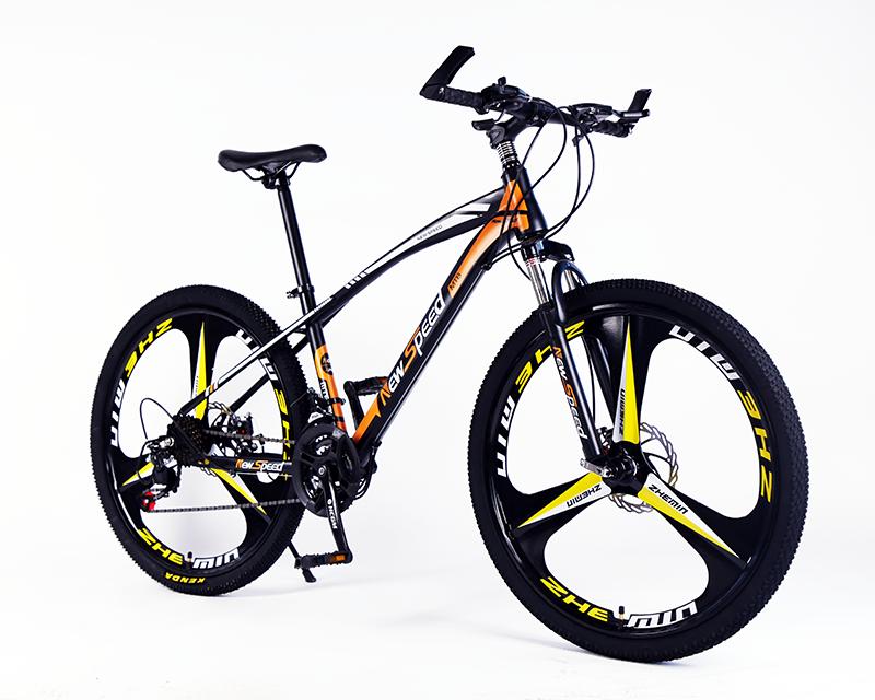 Acciaio alto tenore di carbonio adulto bike, forcella disco strada freno della bici bicicletas, mountain bicicletta in vendita