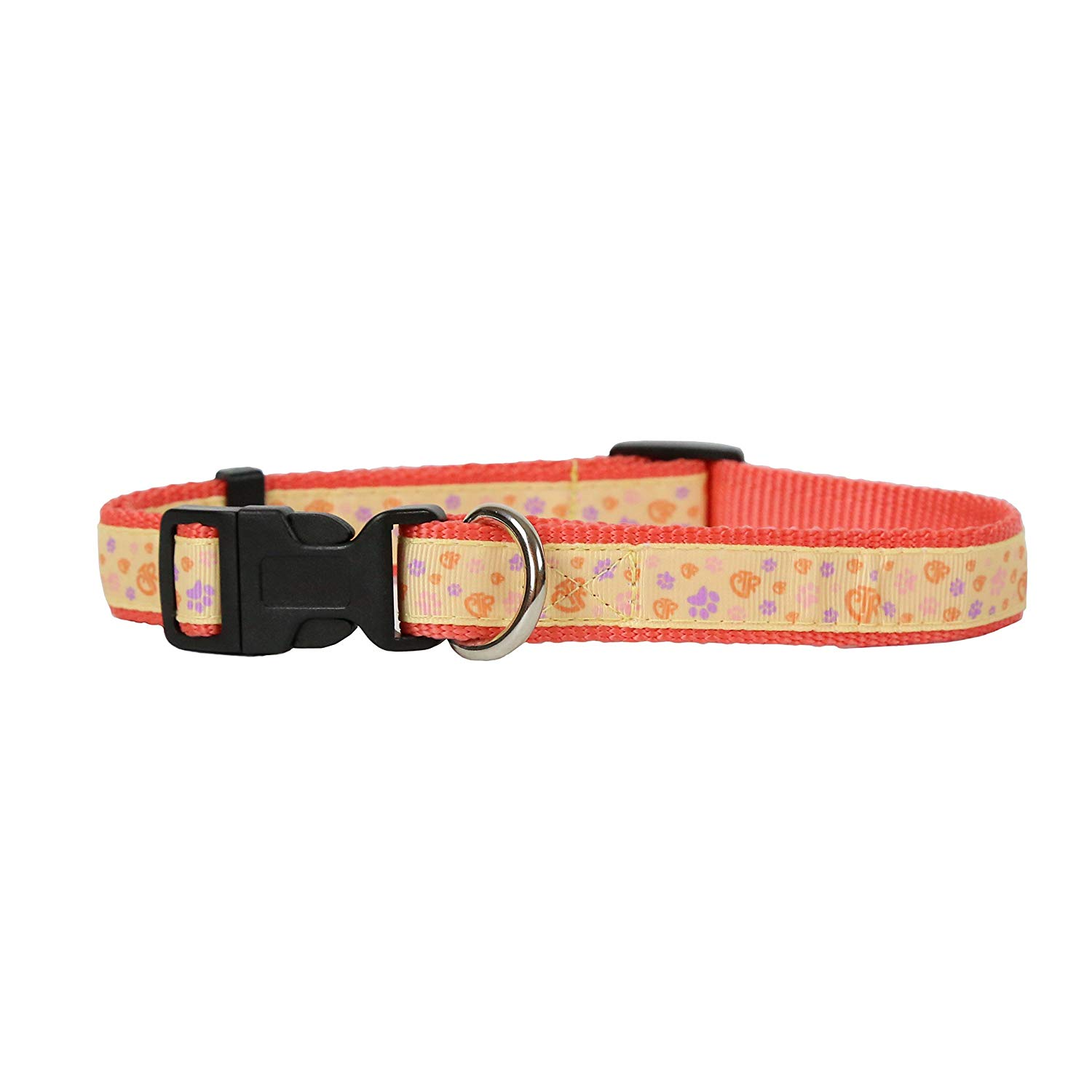 Pink CTR Pet Collar - perfect for dogs, cats, and more - pets can choose the right
