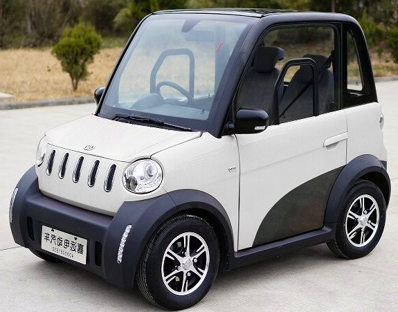 Two Seat Four Wheel Mini Eec L7e L6e Electric Cars Ac Motor