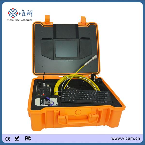 underwater cctv robot video crawler pipe inspection camera system