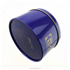accept custom order food grade round empty tea tin cans