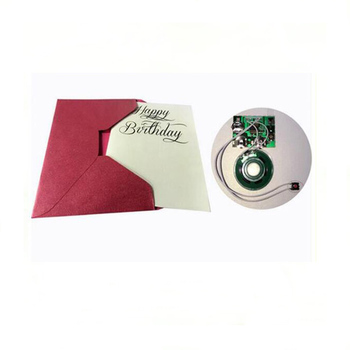 Unique Electronic Custom Musical Audio Greeting Card Music Singing Birthday Cards