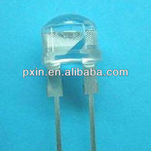 8mm led diode white 0.5w optional color size and shape