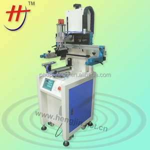 Hengjin Made Precise Germany FESTO Cylindrical glass bottle screen printing machine