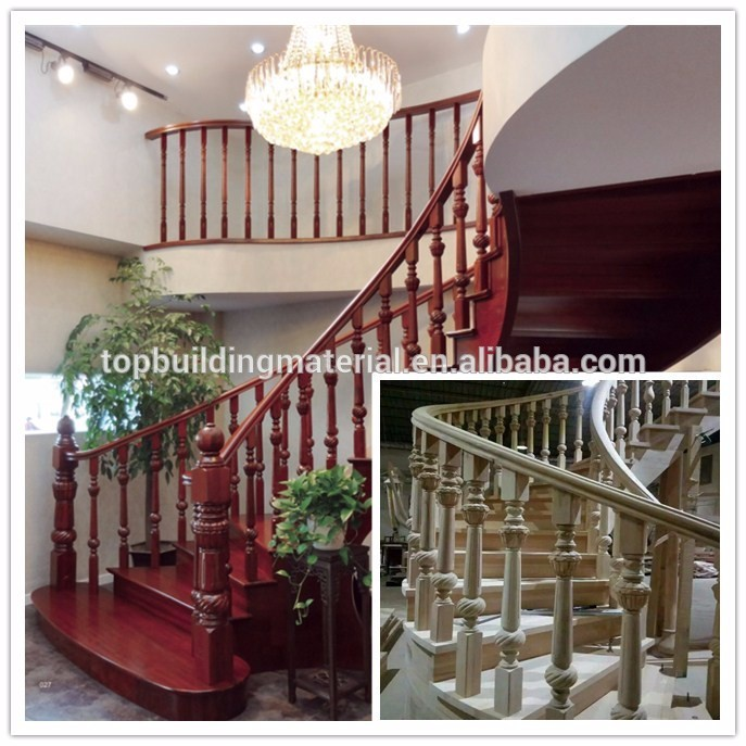 Modern tailor made metal wood staircase design