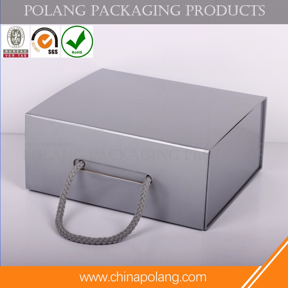 Recyclable cardbord material wine tube paper box with logo printed for beverage packaging