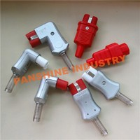 CE ROHS passed high temperature electric plug electric shock anal plug for machine