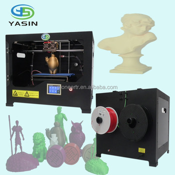 Dongguan ABS PLA single extruder Desktop for 3D Printer Supplier