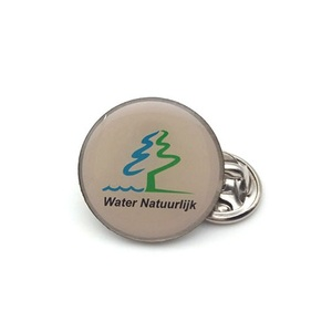 custom volunteer voluntary metal lapel pin badge