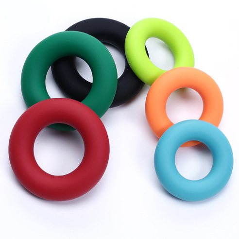 30/40/50 Pounds Silicone Hand Grip O Shape Healthy Muscle Strength Training Hand Grips For Fitness Sports