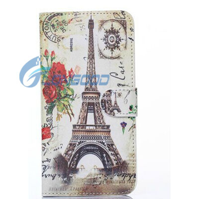 PU Leather Phone Case,Book Style Leather Phone Cover For iPhone 6