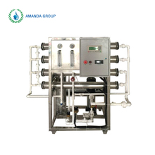 Seawater desalination RO purification system in electric power industry