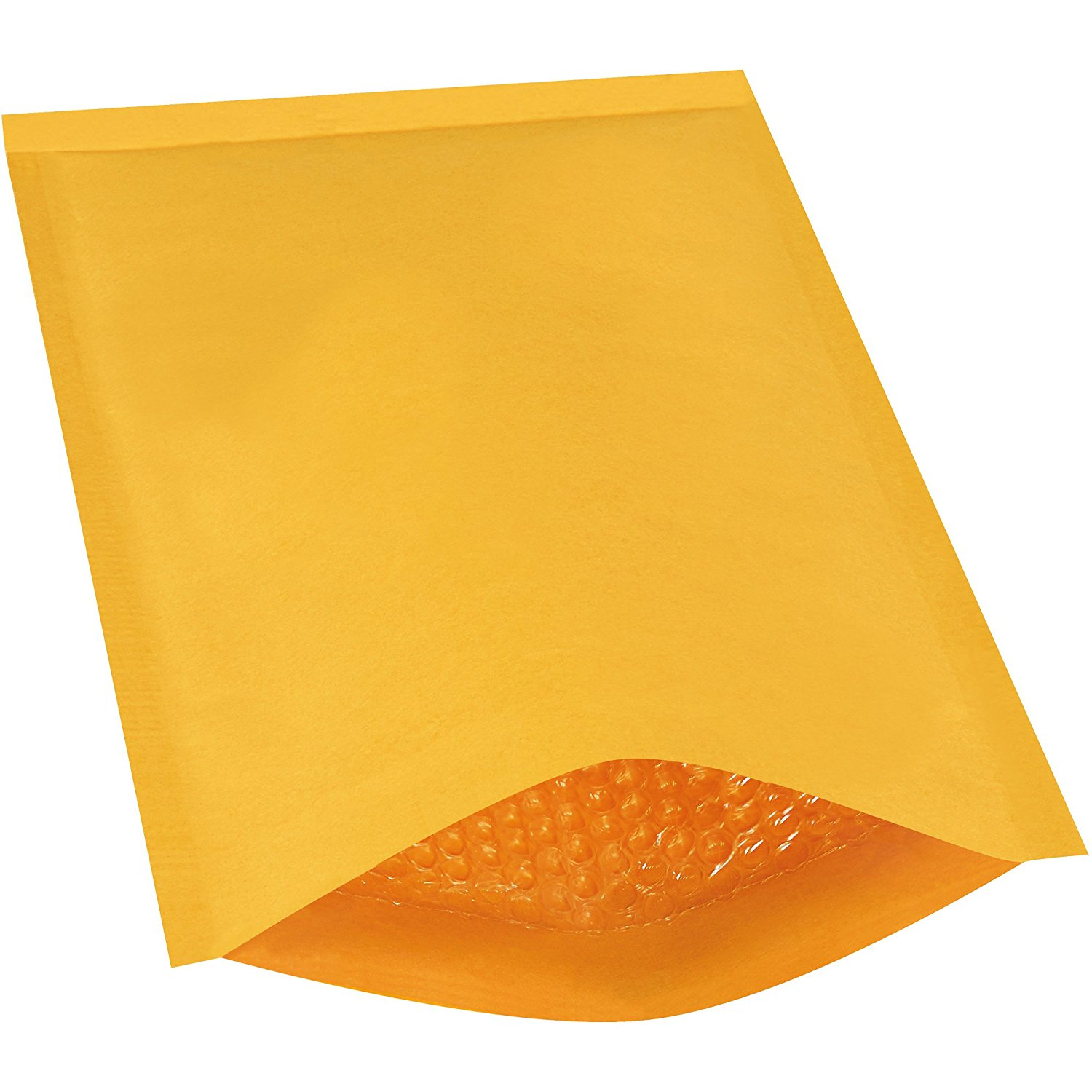 "Ship Now Supply SNB857 Heat-Seal Bubble Mailers, #4, 9 1/2"" x 14 1/2"", 9.5"" width, 14.5"" Length, Kraft (Pack of 100)"