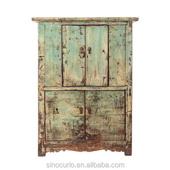 distressed antique furniture. Antik Cina Tertekan Recycle Lama Kayu Kabinet Furniture Distressed Antique I