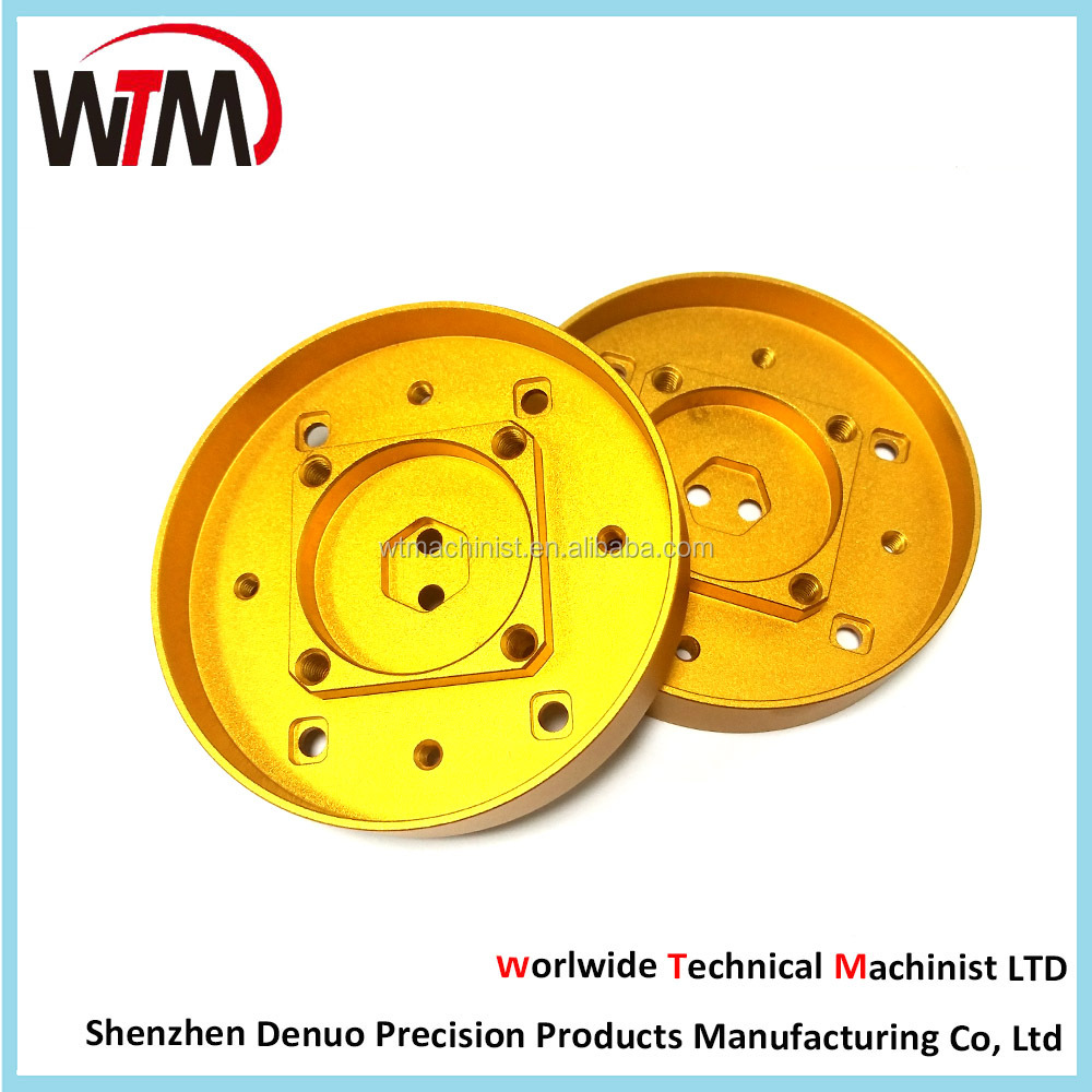 Aluminum/Stainless Steel/Brass cover parts,Custom cnc machining aluminium anode products