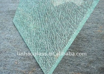 Lamnianted Crackle Glass Tempered Crack Glass Buy