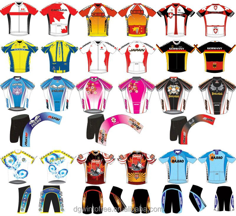 Custom Sublimation Quick Dry Cycling Clothing  d5457736f