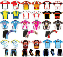 Custom Sublimation Quick Dry Cycling Clothing , Bike jersey with short sleeve, cycling wear made in china