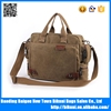 New fashion gentle young men high quality shoulder school laptop book bag canvas messenger bag