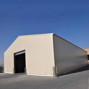 china prefabricated steel garage portable aircraft hangar