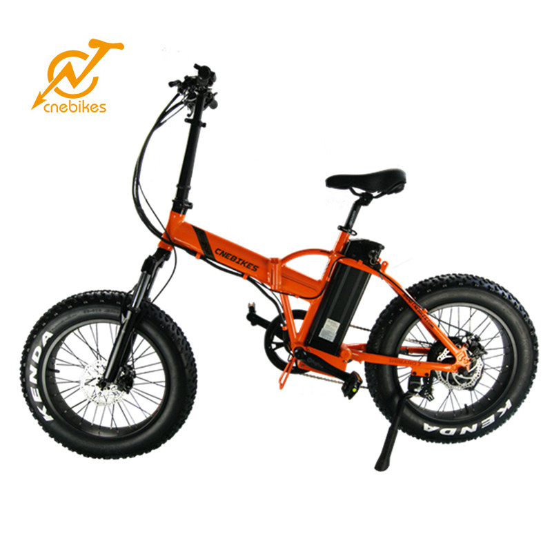 China High quality small size foldable fat tire tyre electric mountain bike, folding fat ebike for unisex
