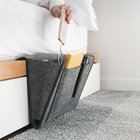 Thicker felt Bedside Caddy Felt Sofa Storage Bag