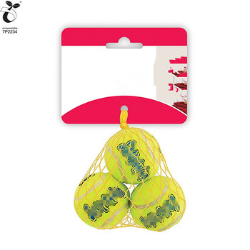 100% PLA Customized Golf Tennis Balls Carrying Holder Storage Mesh Nets Bag Pouch Free Sample Eco-friendly With EN13432 BPI