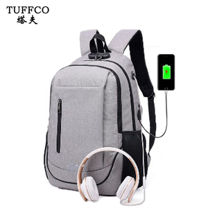 2018 New Design Usb Charge waterproof Backpack For Men women
