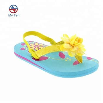 47b6c2c0faa74 Summer Beach Style New Design Girls Thongs Outdoor Flip Flop Sandals Kids Flip  Flops