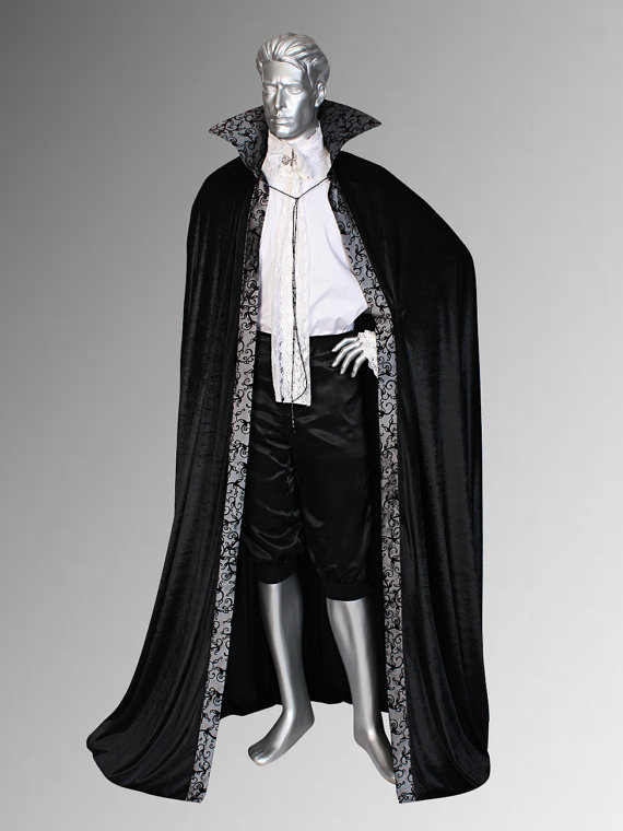 Medieval Renaissance Royal Style Cape Cloak for King or ...