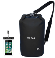 Customized 10L Logo Ultralight Waterproof Dry Sack Dry Bag