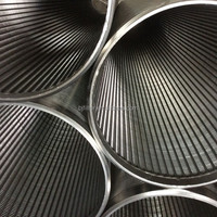 wedge wire screen rod base v wire wrapped sand control screens