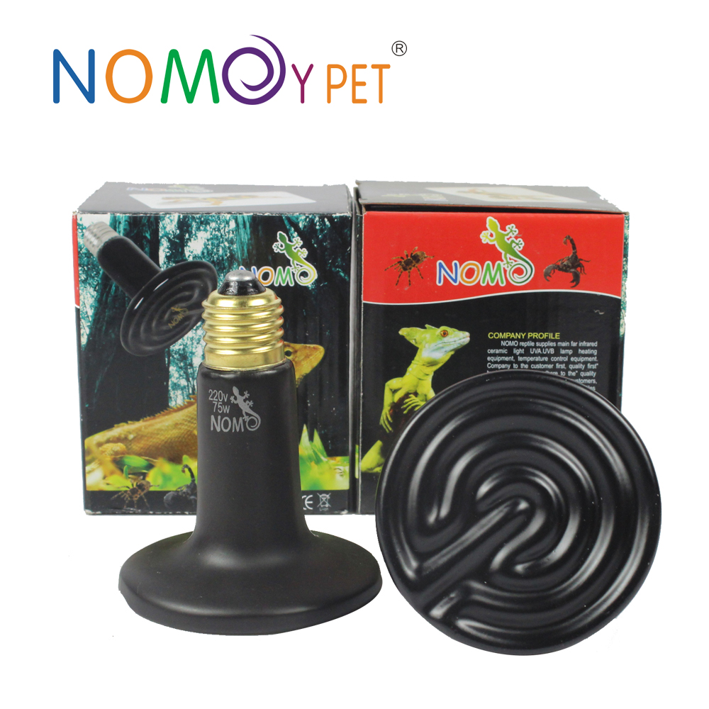 Nomo Wholesale Infrared Ceramic Heat Lamp For Animals Nd