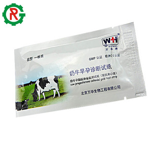 Urine pregnancy test strip paper for cows pregnancy test kit