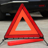 Original Red Warning Signal Safety Reflective Car Warning Triangle/ High Reflective Emergency Triangle for Traffic Warning