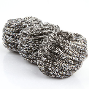 Bulk good quality stainless steel cleaning pot scourer