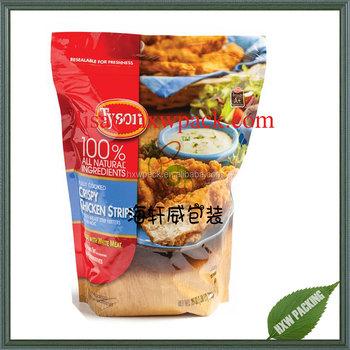 Food Grade Fda Approved Doypack Retort Bag For Chicken Strips,Frozen Fruit  Vegetable Packing Pouch - Buy Chicken Strips Bag,Frozen Fruit Pouch,Frozen