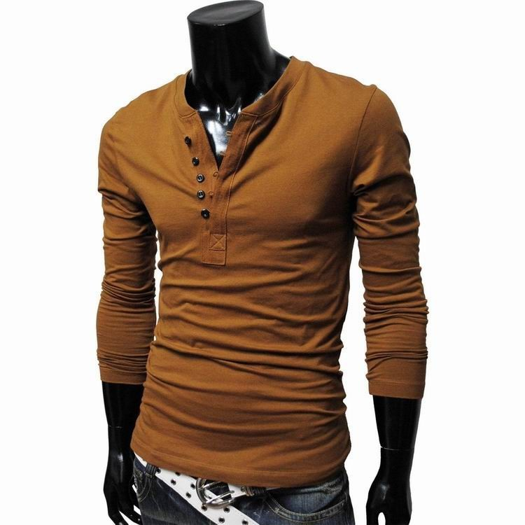 0af3920f9fd 2016 Hot Autumn Fashion Brand Mens Long Sleeve T Shirt