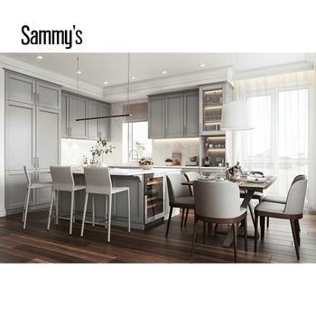 Maple Modern Kitchen Cabinets Kitchen Pantry Cupboards ...