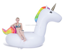 Inflatable Unicorn Pool Float with Rapid Valves Summer Outdoor Swimming Pool Party Lounge Decoration