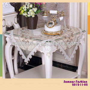"Somnus Fashion 2013 Handmade Embroidery Table Cloth table cloths for card table 60""*60"" 72""*72"" 90""*90"""