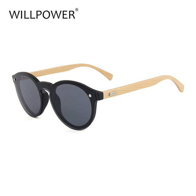 4a290ab3ec 2017 new designer OEM custom logo sport lens wholesale wood bamboo round  female sunglasses